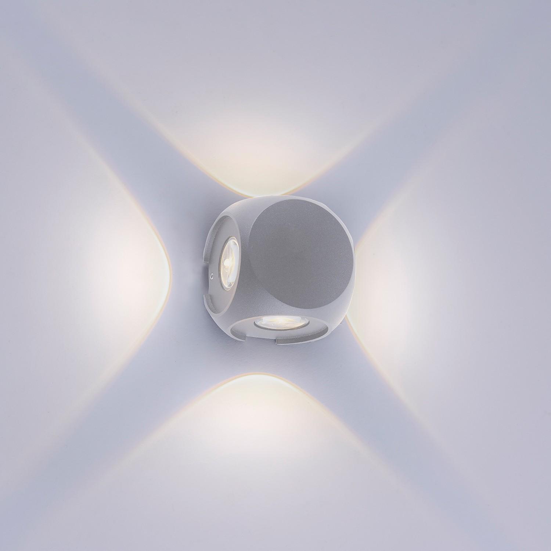 home24 LED-Wandleuchte Carlo I