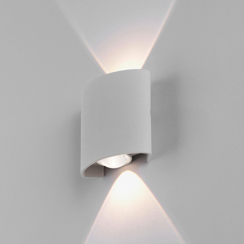 home24 LED-Wandleuchte Carlo II