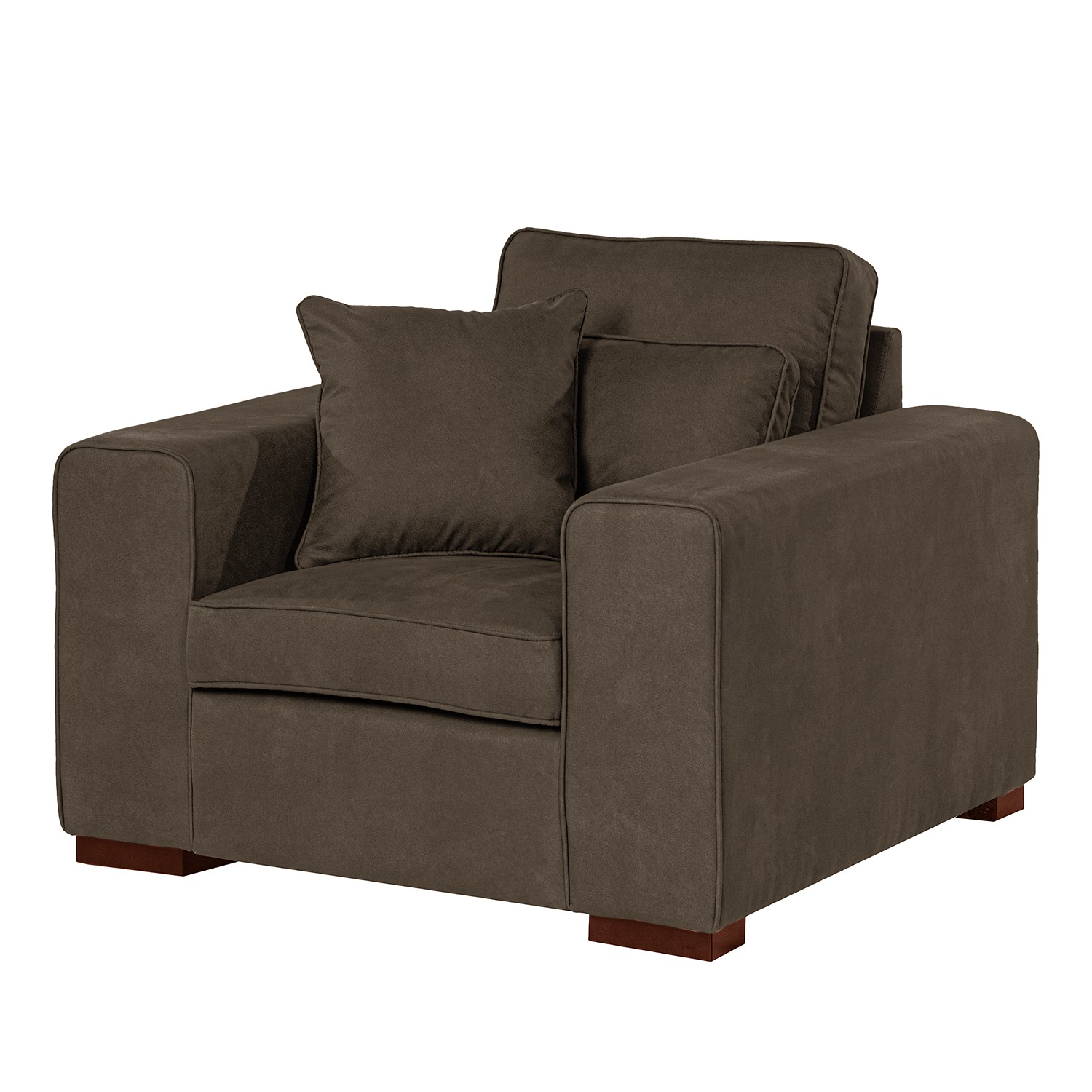 Home24 XXL fauteuil Randan II, Red Living