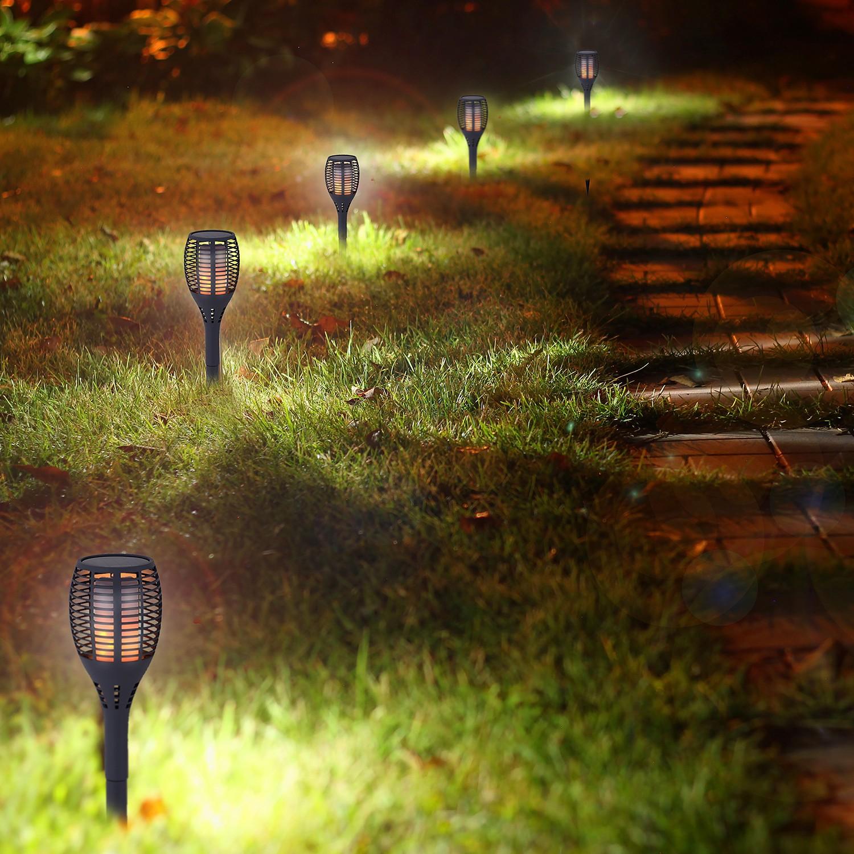 LED-Wegeleuchte Fackel I, Naeve