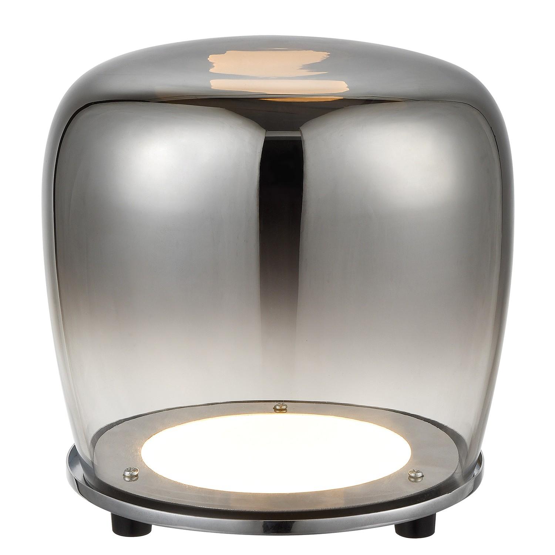 home24 LED-Tischleuchte Smoky