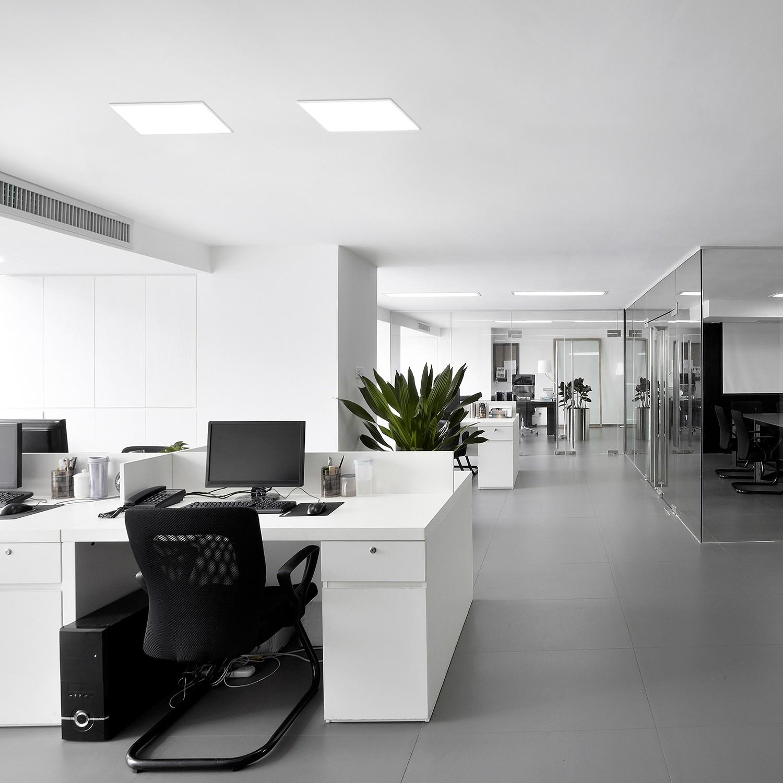 home24 LED-Deckenleuchte Carente I