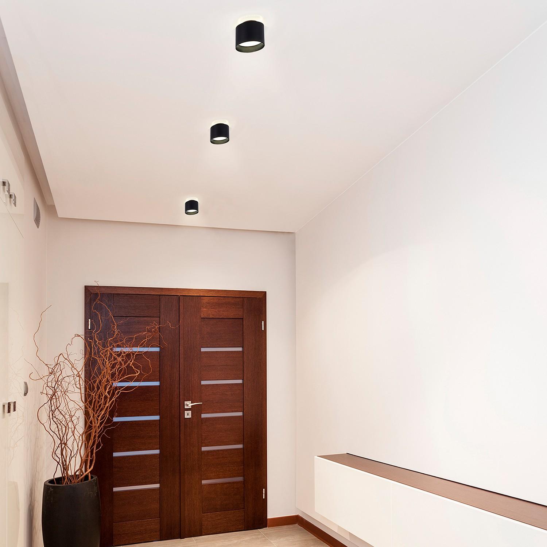 home24 LED-Deckenleuchte Trios