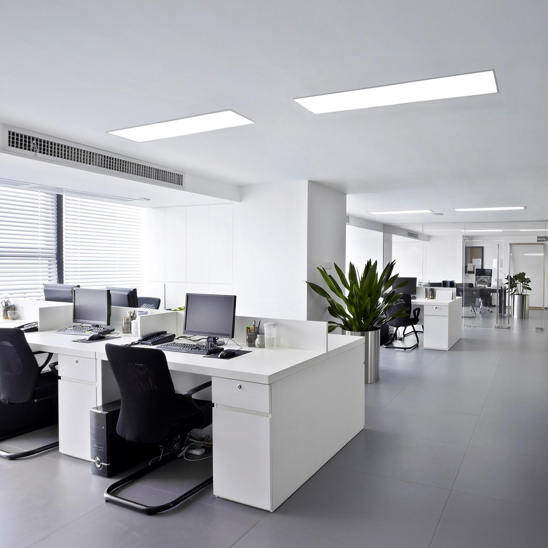 home24 LED-Deckenleuchte Carente II