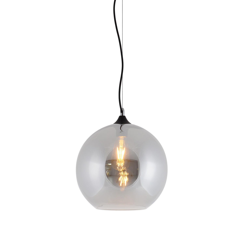 Pendelleuchte Vaso V Kaufen - Klarglas / Aluminium 1-flammig