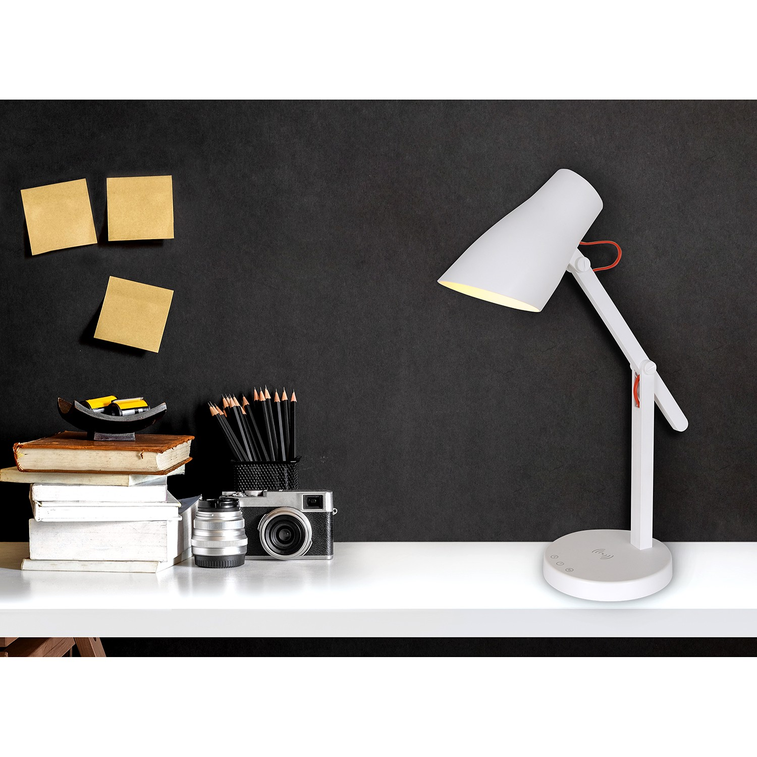 home24 LED-Tischleuchte Clever