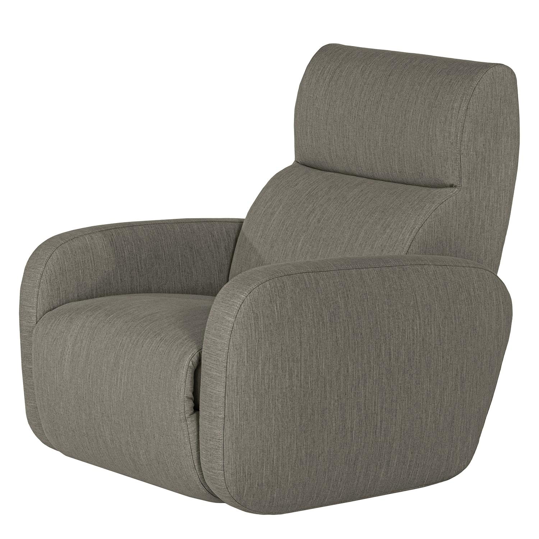 home24 loftscape Sessel Mezin II Grau Webstoff mit Relaxfunktion 97x104x105 cm (BxHxT)