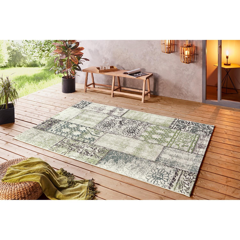 """Outdoor-Teppich """"Symi"""" aus Kunstfaser, lindgrün"""