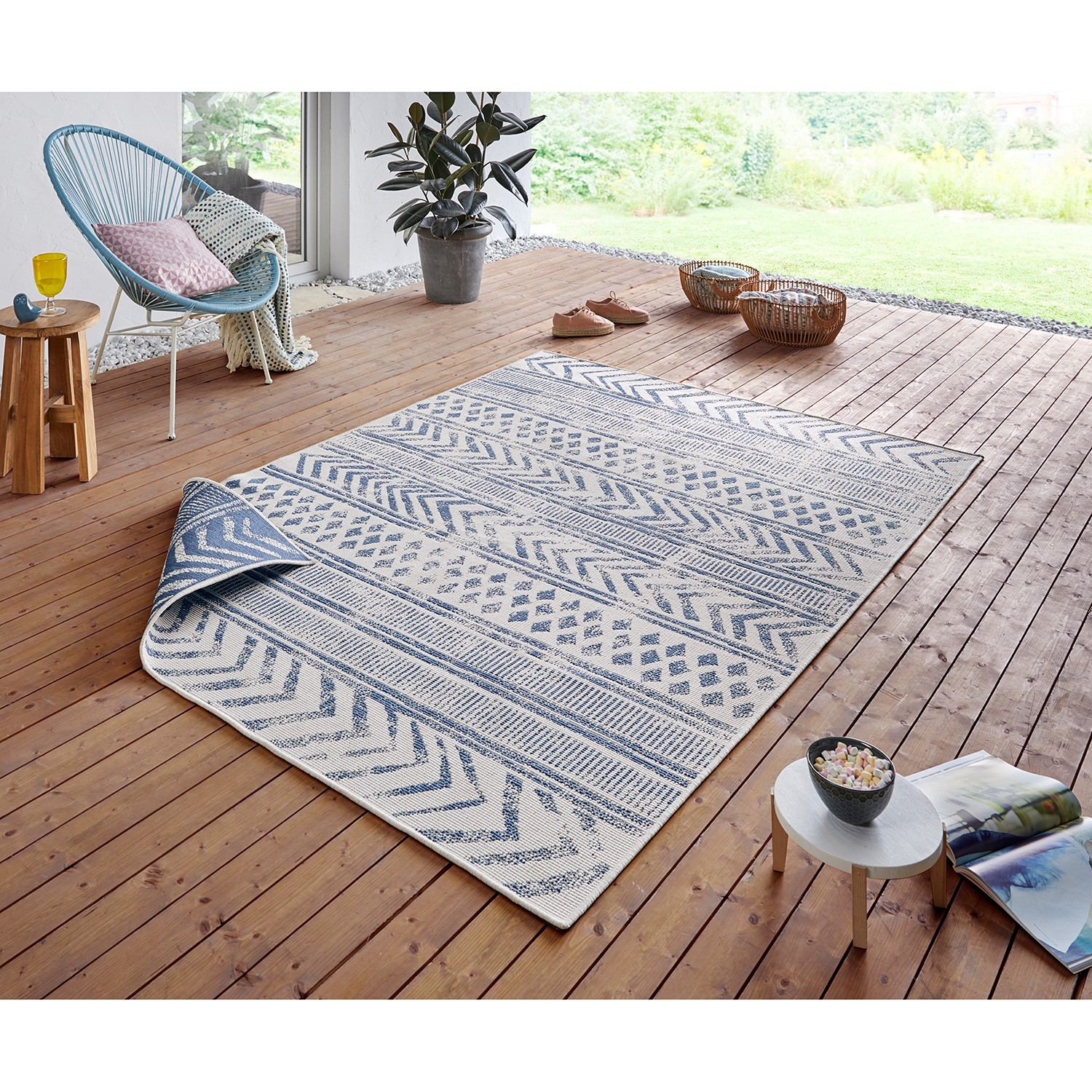 Home24 Outdoorvloerkleed Biri, home24