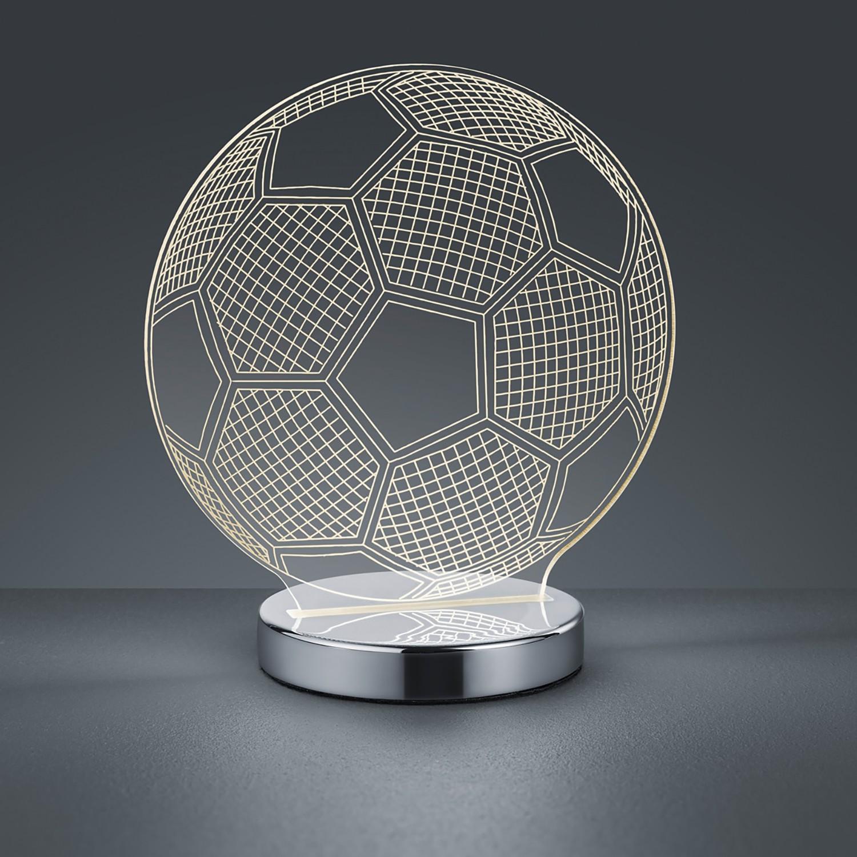 home24 LED-Tischleuchte Ball