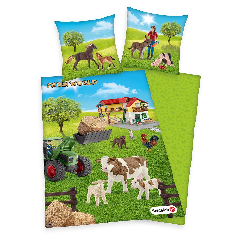 home24 Bettwaesche Schleich Farm World