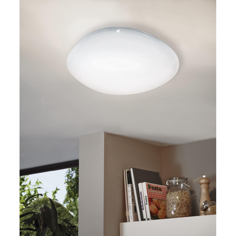 home24 LED-Deckenleuchte Sileras