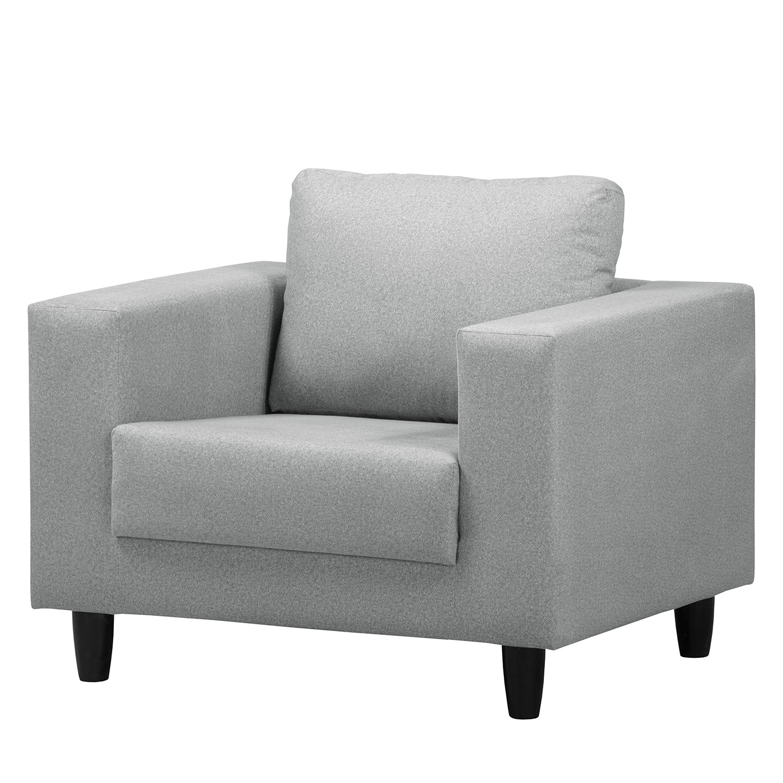 home24 Mørteens Sessel Bexwell II Hellgrau 100% Polyester 90x80x75 cm (BxHxT)