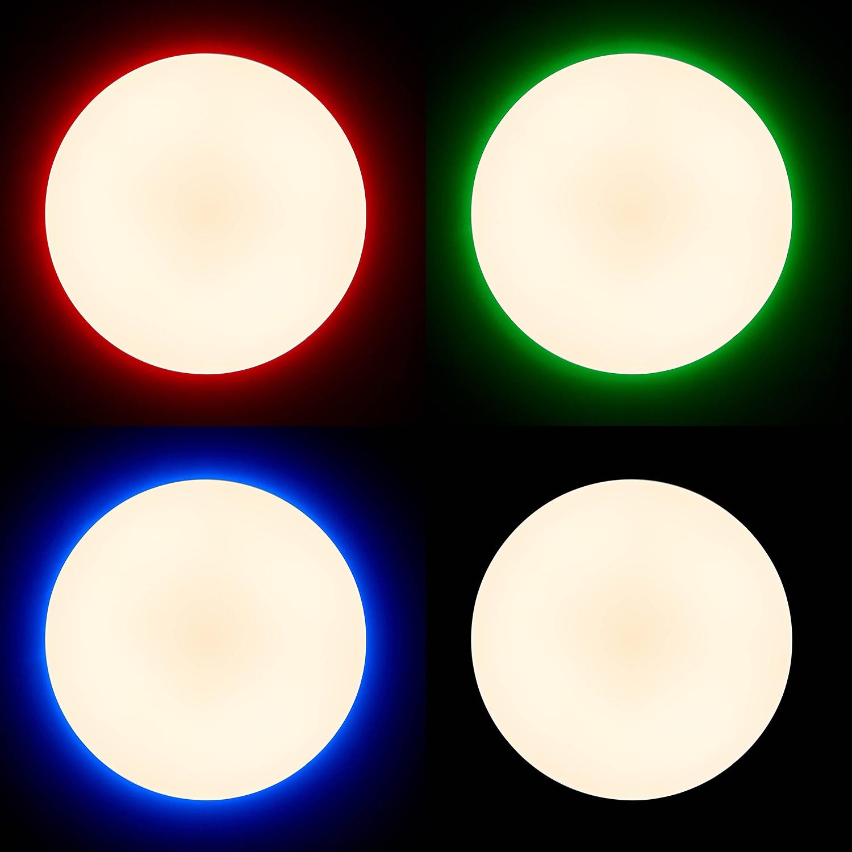 home24 LED-Deckenleuchte Edna II
