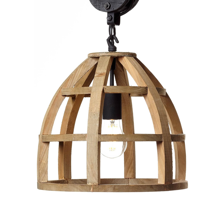 home24 Pendelleuchte Matrix Wood  IV