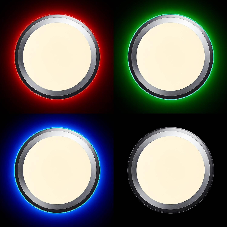 home24 LED-Deckenleuchte Dinos