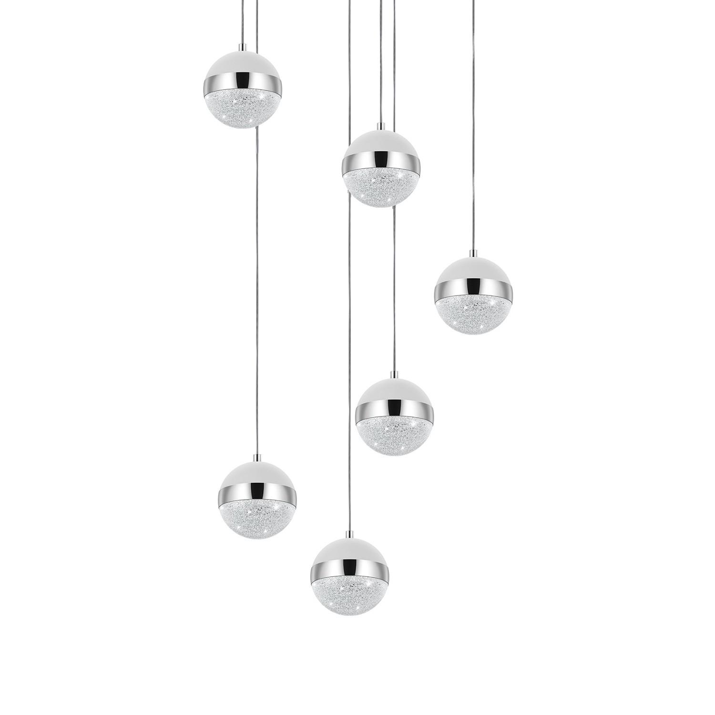 home24 LED-Pendelleuchte Licoroto III