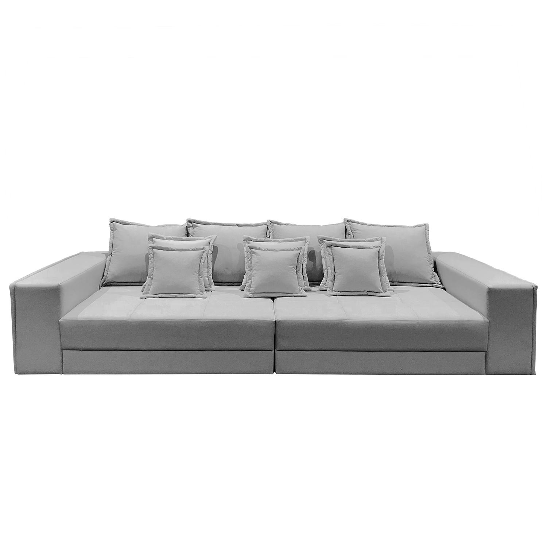 home24 Maison Belfort Bigsofa Breval Granit Microfaser 289x87x110 cm