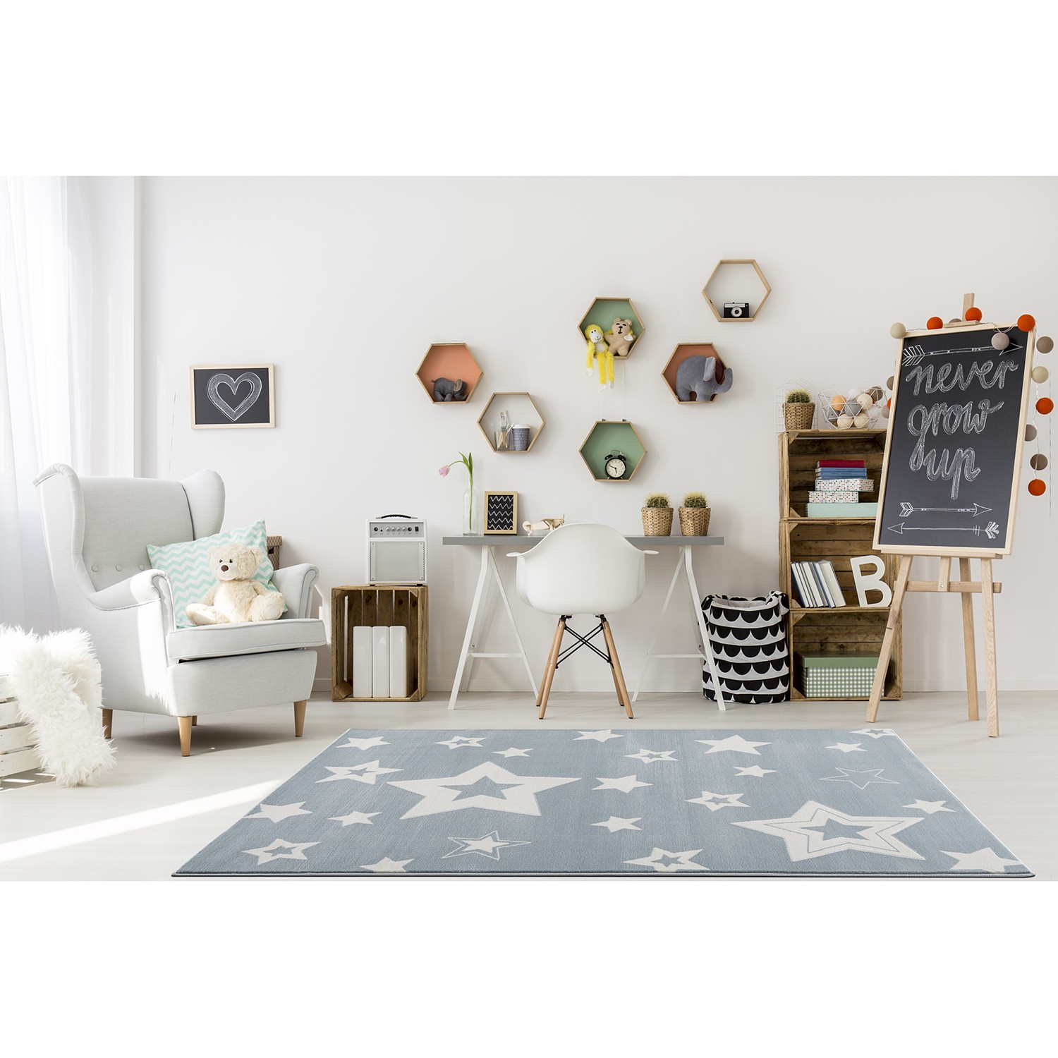 Kinderteppich Galaxy, Happy Rugs