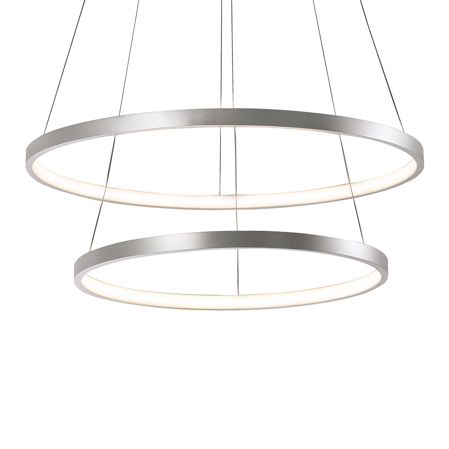home24 LED-Pendelleuchte Circle IV