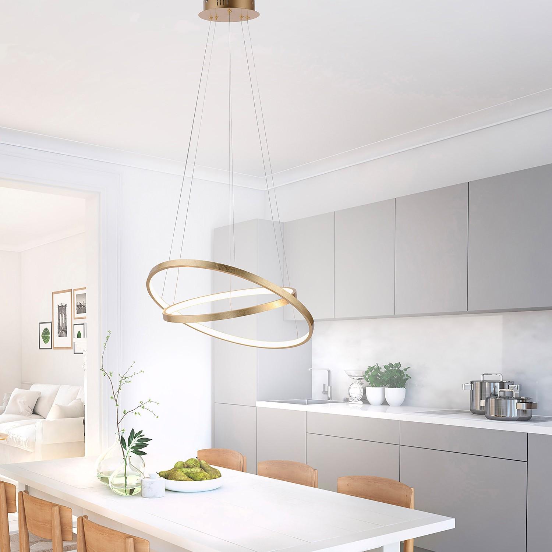 home24 LED-Pendelleuchte Circle II