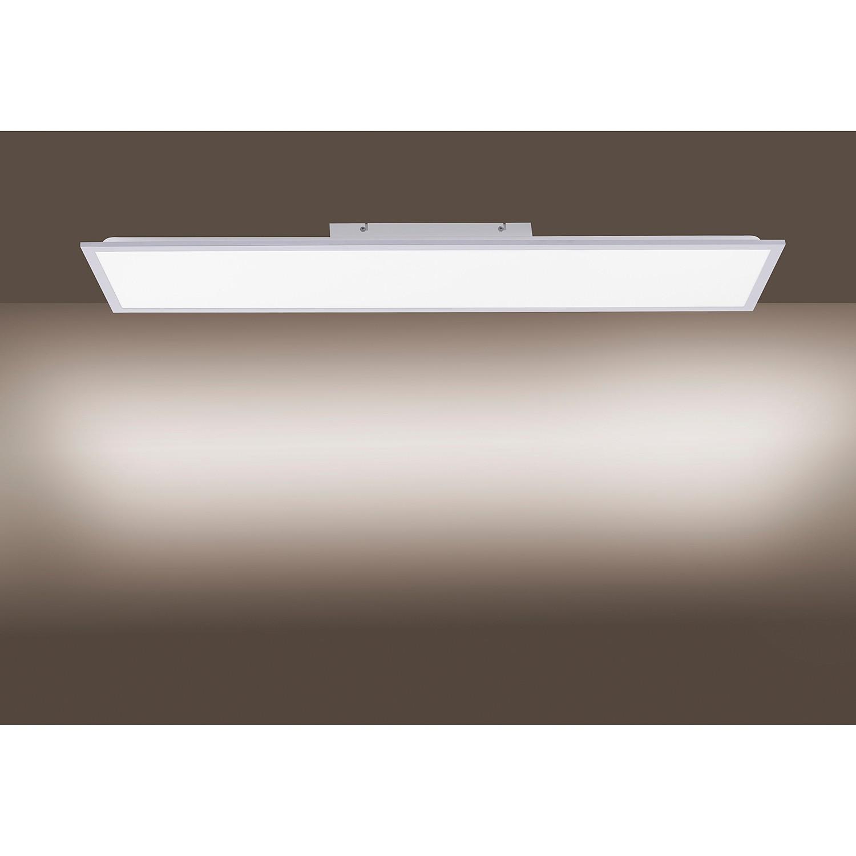 home24 LED-Deckenleuchte Flat VI