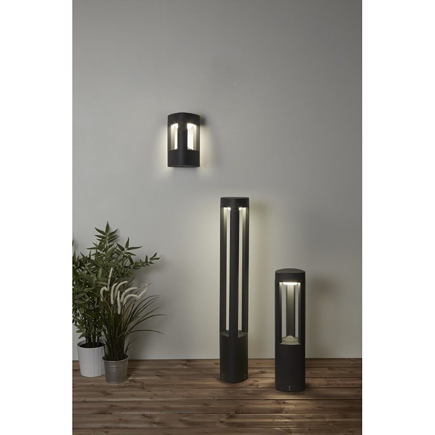 home24 LED-Wegeleuchte Michigan II