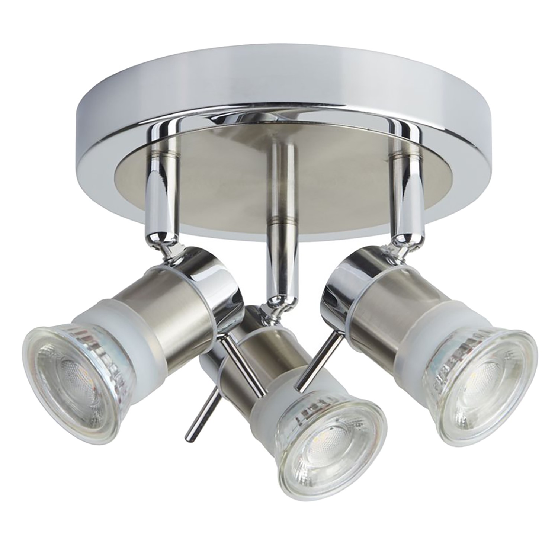 home24 LED-Deckenleuchte Aries