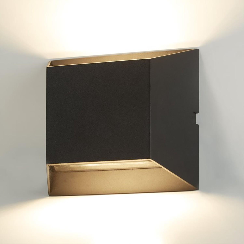 home24 LED-Wandleuchte Bisbee VII