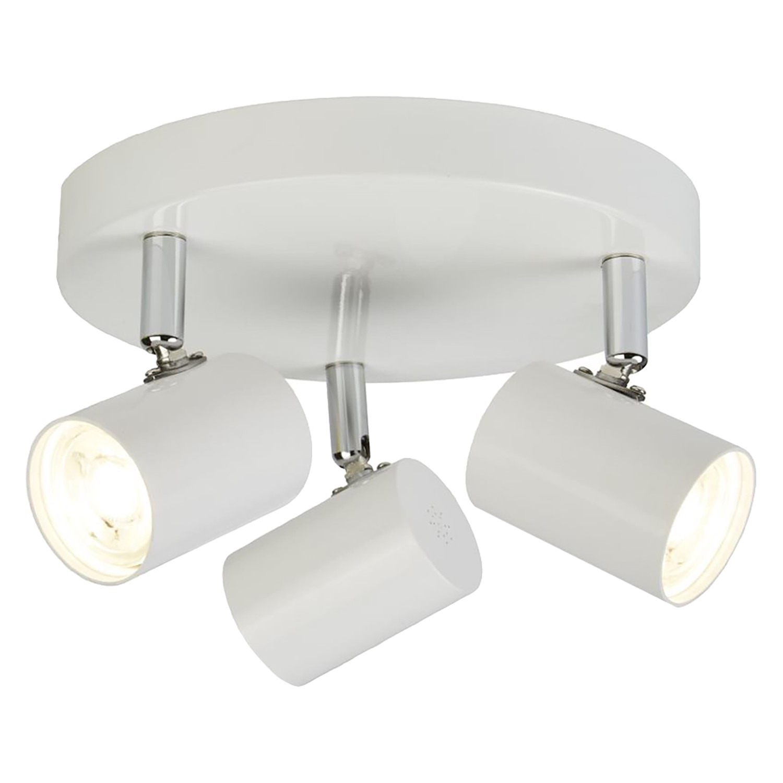 home24 LED-Deckenleuchte Rollo III