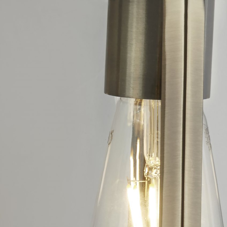 Wandleuchte Voyager Kaufen - Klarglas / Stahl 1-flammig