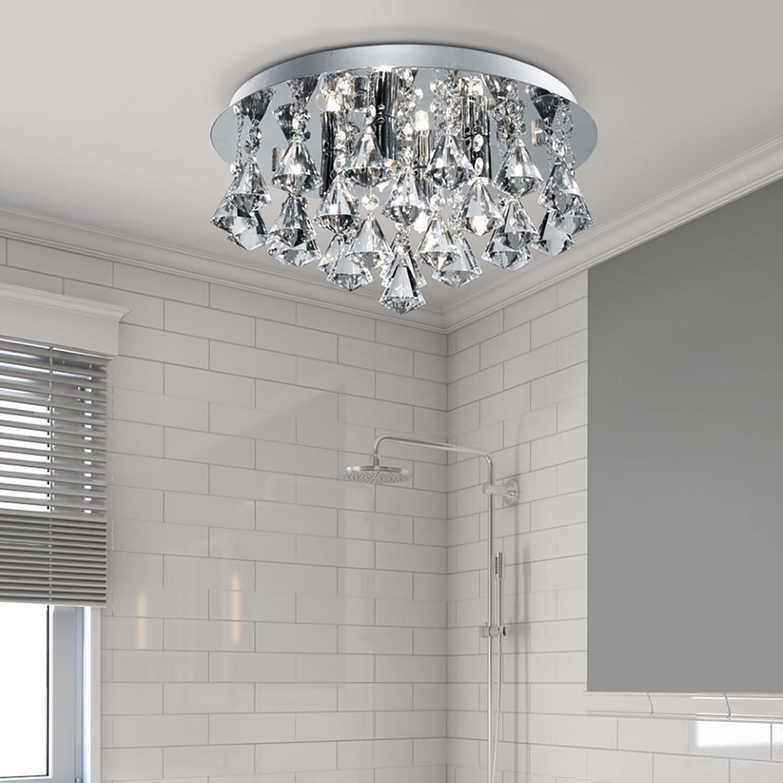 home24 LED-Deckenleuchte Bathroom II
