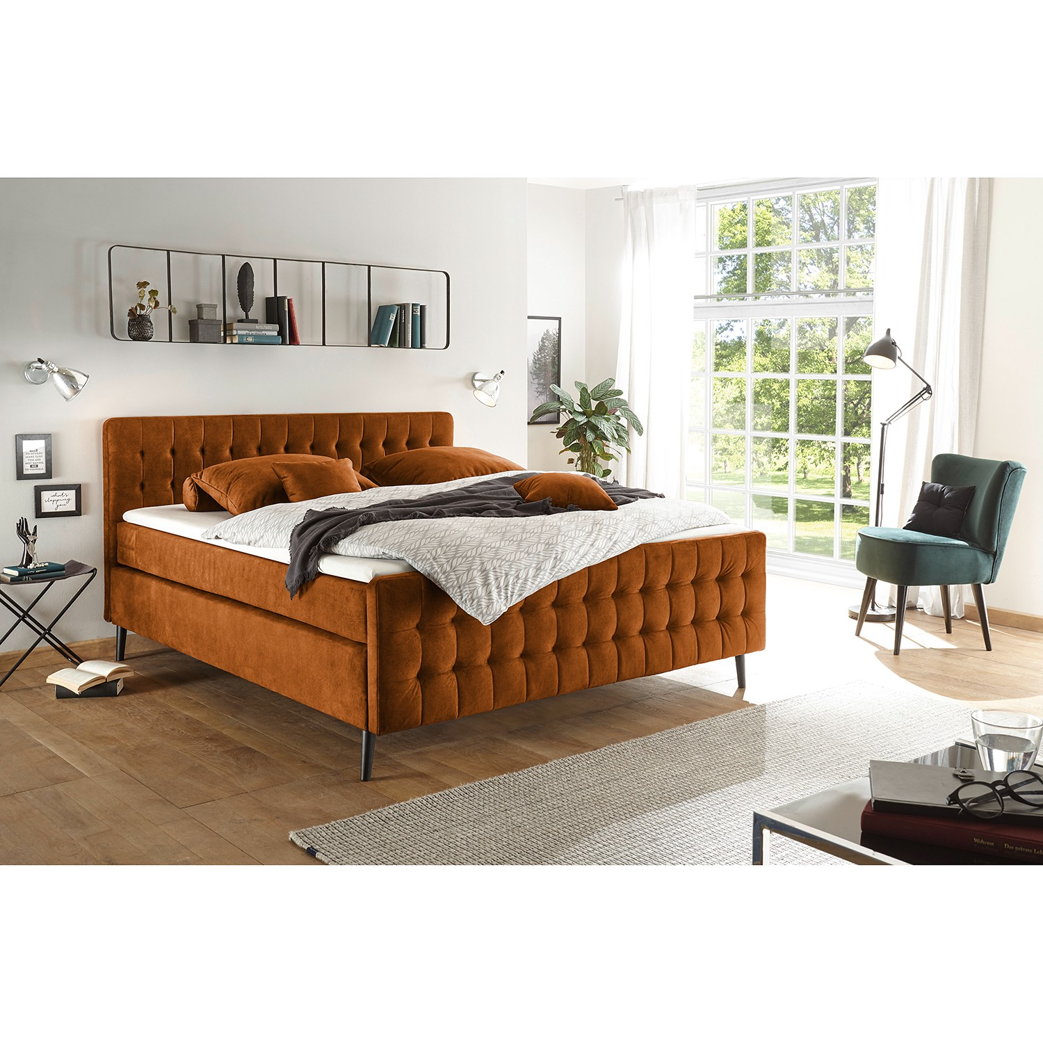 Lit boxspring Multia