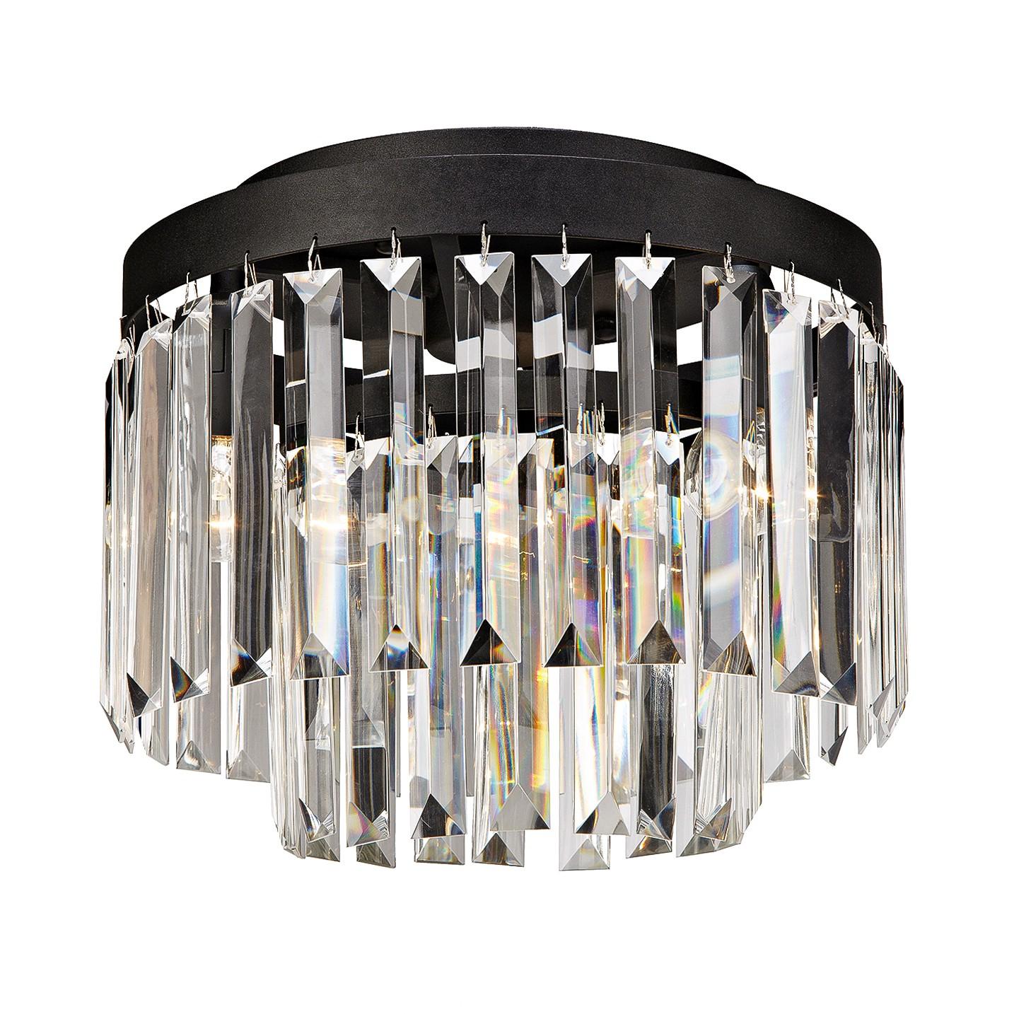 home24 LED-Deckenleuchte Ventimiglia I