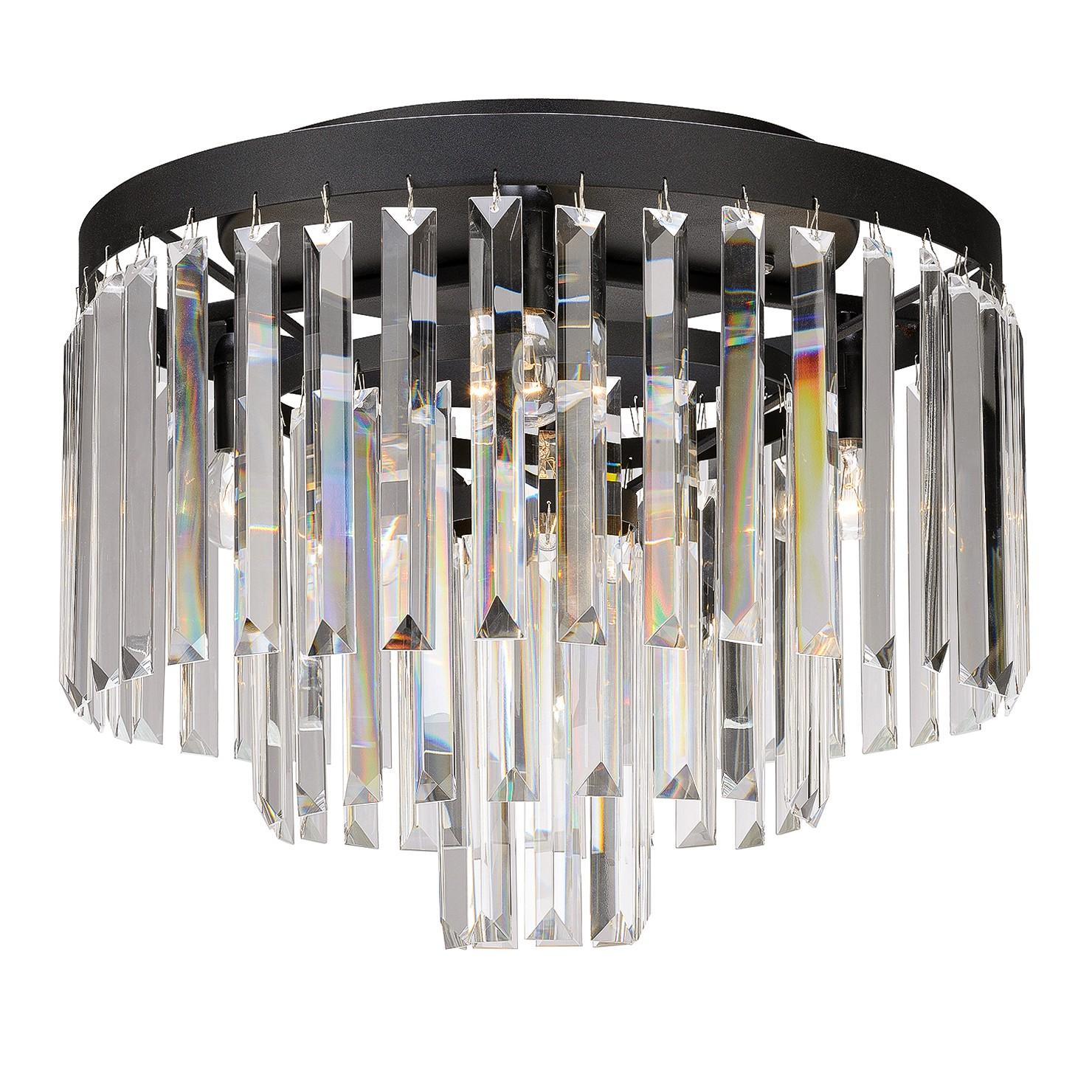 home24 LED-Deckenleuchte Ventimiglia II