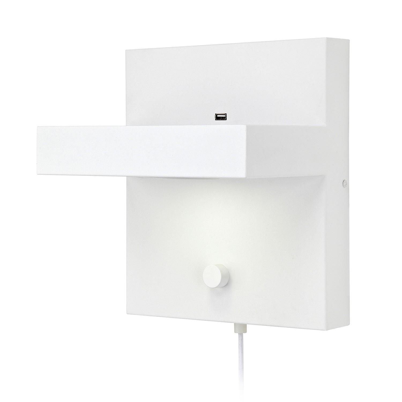 home24 LED-Wandleuchte Kubik