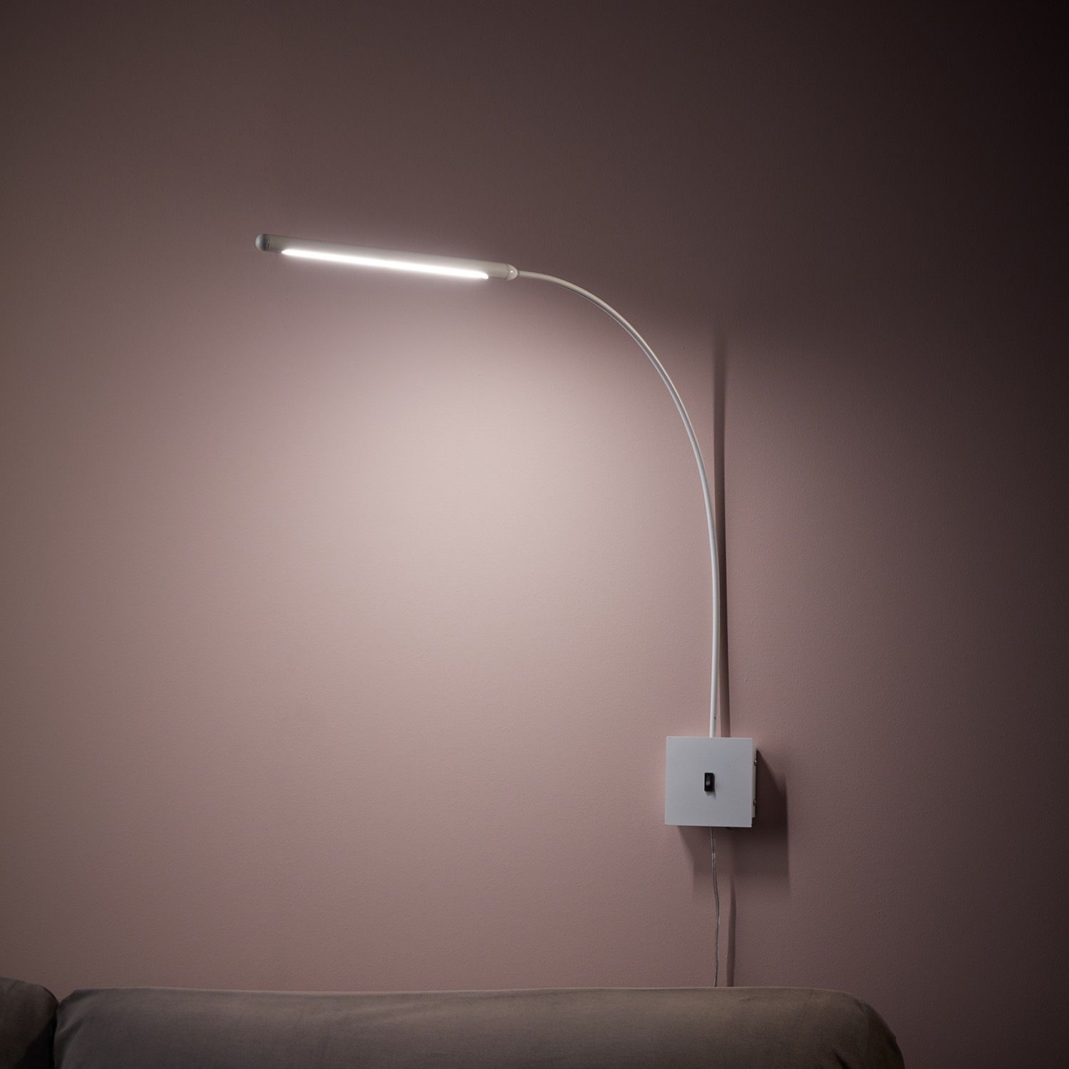 home24 LED-Wandleuchte Antenna