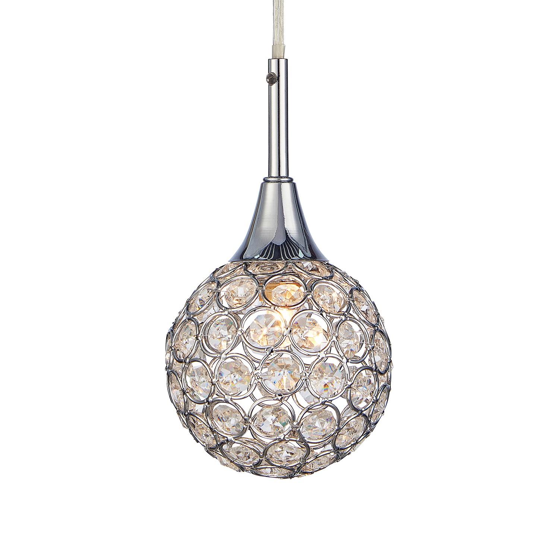 home24 LED-Pendelleuchte Cora