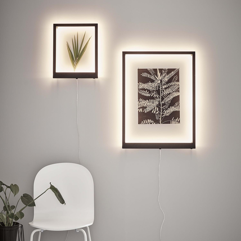 home24 LED-Wandleuchte Frame II