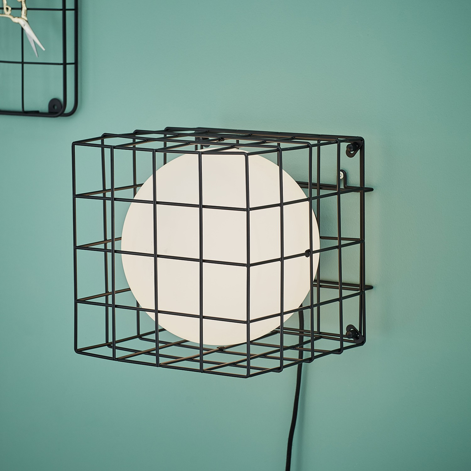 home24 Wandleuchte Cage