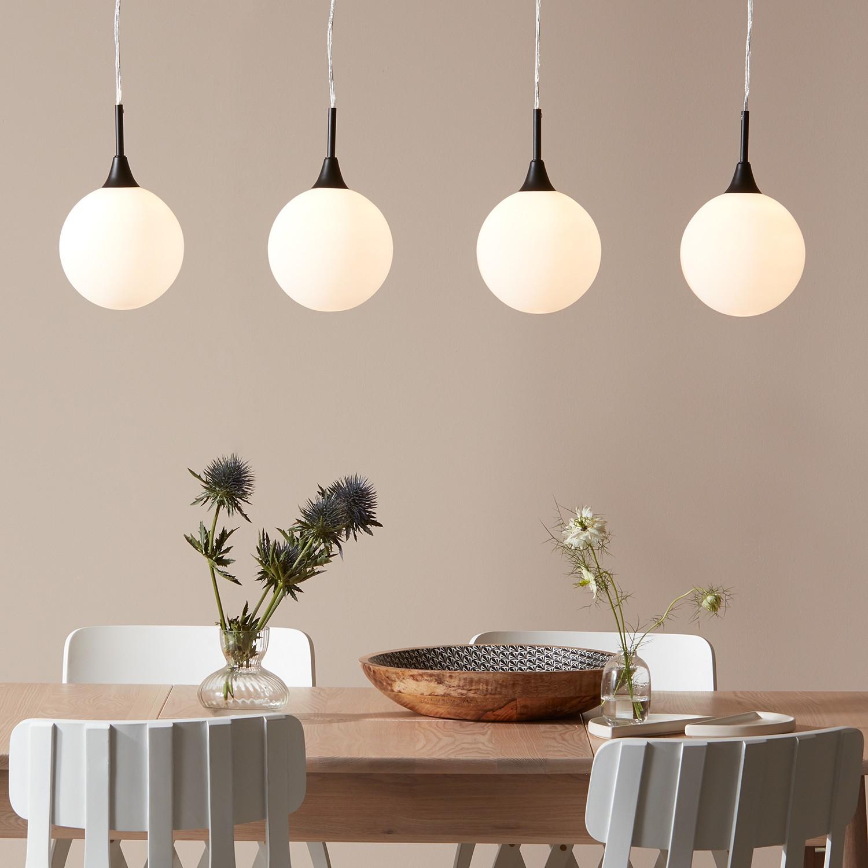 home24 LED-Pendelleuchte Quattro III