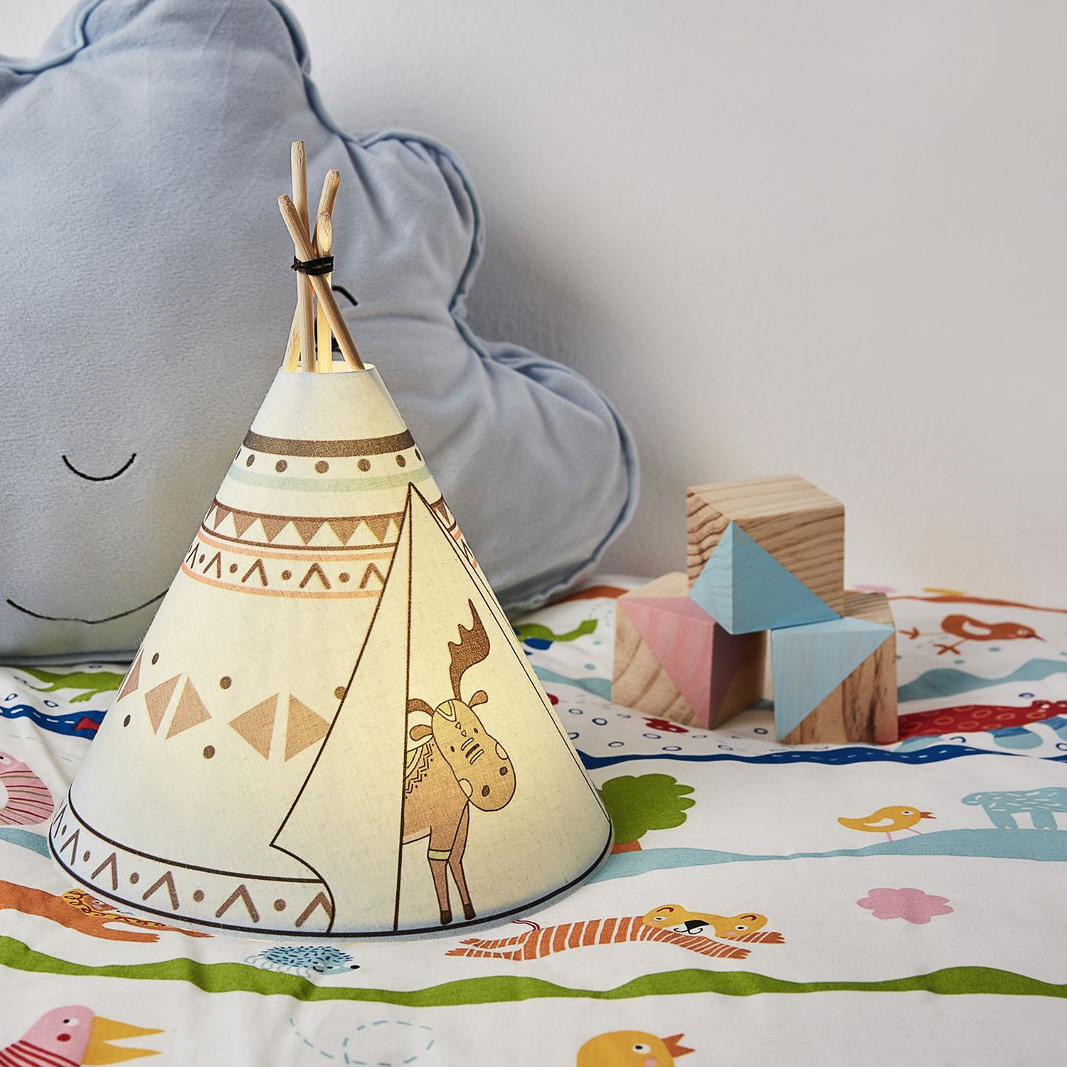 home24 LED-Tischleuchte Twinkle Tipi III