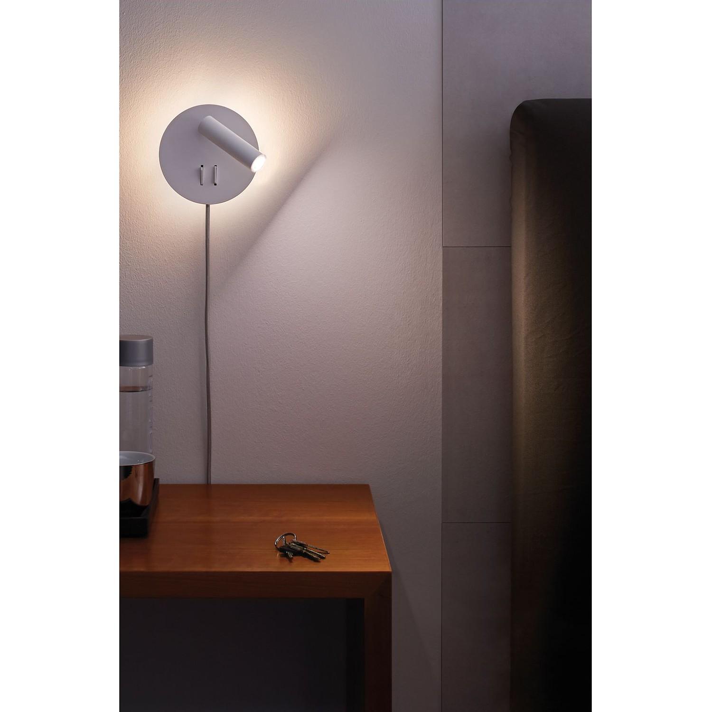 home24 LED-Wandleuchte Tabari