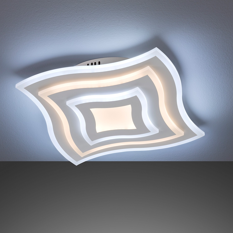 home24 LED-Deckenleuchte Foxham II