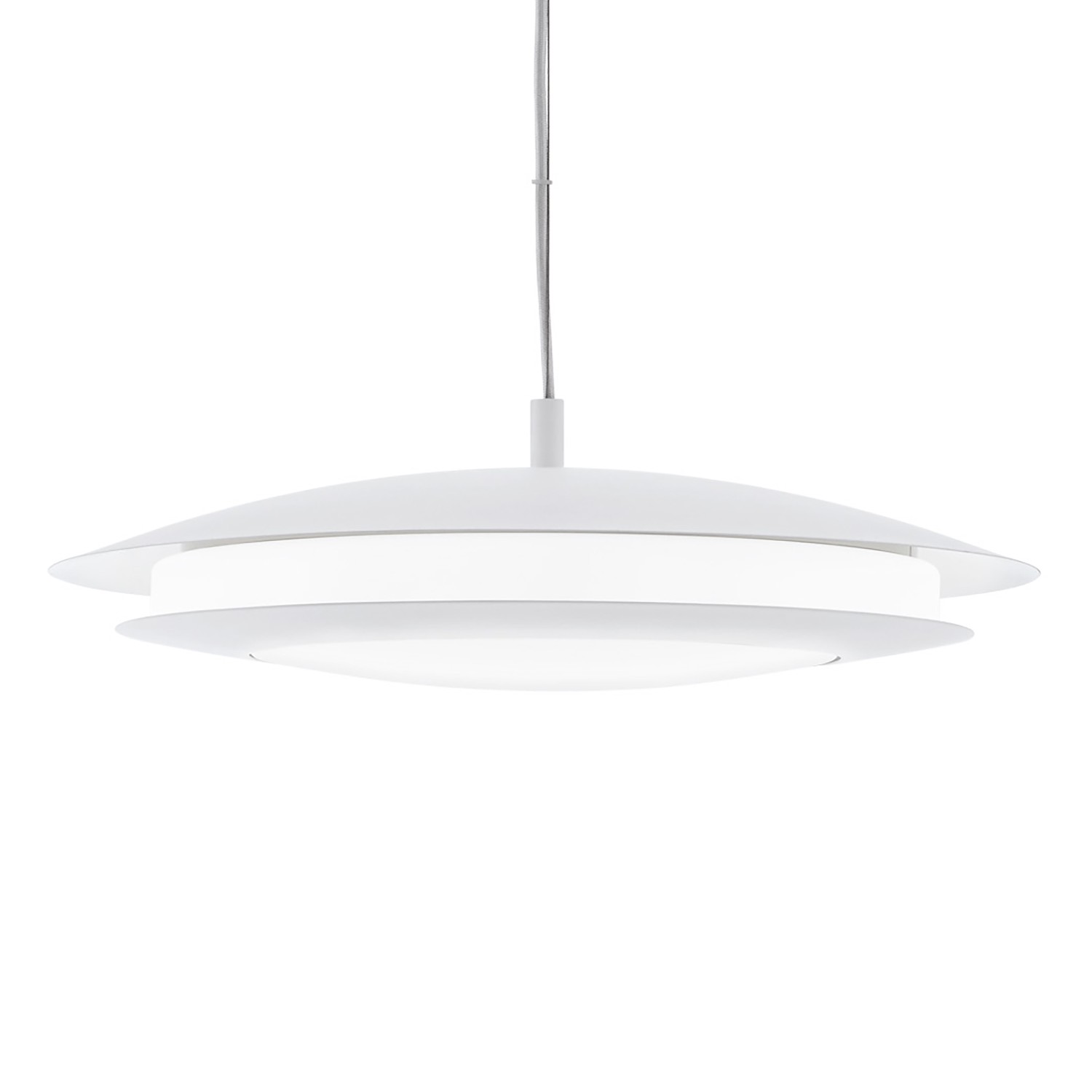 home24 LED-Pendelleuchte Moneva II
