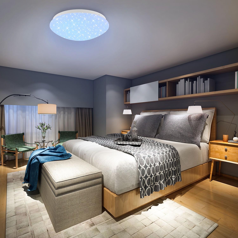 home24 LED-Deckenleuchte Ophelia