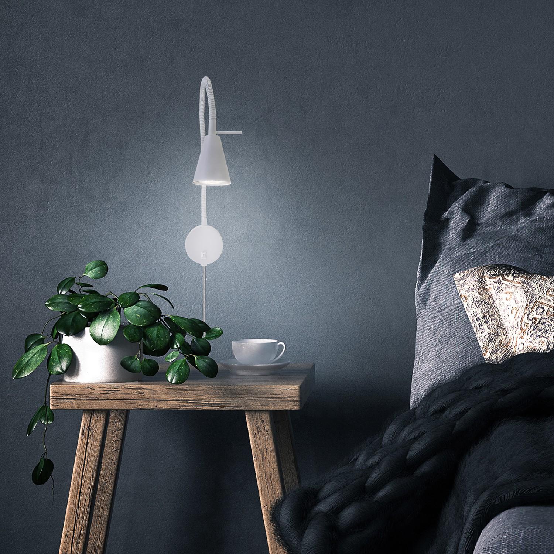 home24 LED-Wandleuchte Viki