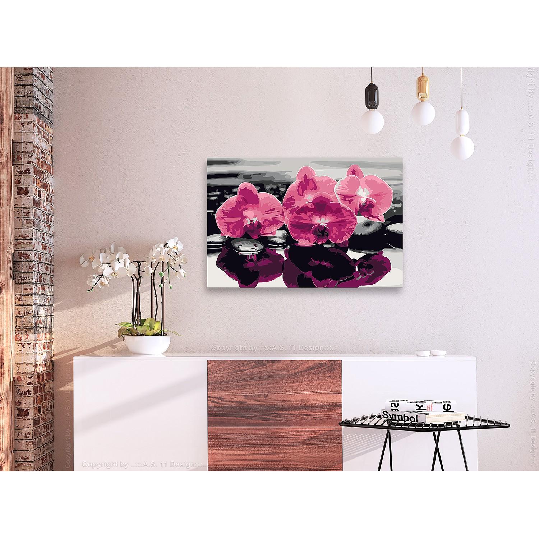 Bild Drei Orchideen, Artgeist