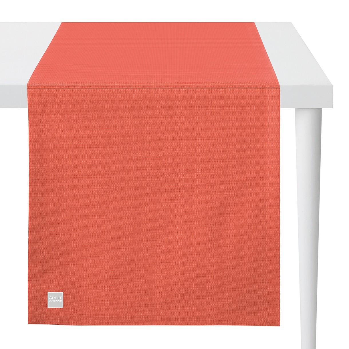 Apelt Tischläufer Gundaroo Koralle 46x140 cm (BxT) Kunstfaser