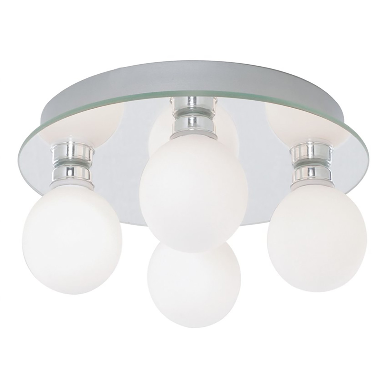 home24 LED-Deckenleuchte Global